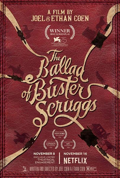THE MOVIE MINGLE 90 BALLAD OF BUSTER SCRUGGS 2018